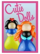 Nifty Balloons - Cutie Dolls