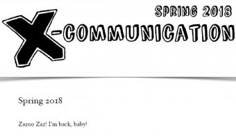 The Jerx - X-Communication Spring Issue 2018