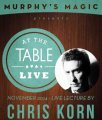 At the Table Live Lecture by Chris Korn