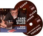 Card Under Glass by Doc Eason