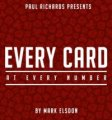 Every Card At Every Number by Mark Elsdon