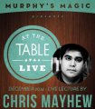 At the Table Live Lecture by Chris Mayhew