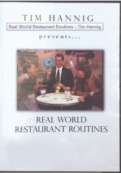 Real World Restaurant Routines - Tim Hannig