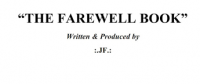 Farewell Book by Jerome Finley